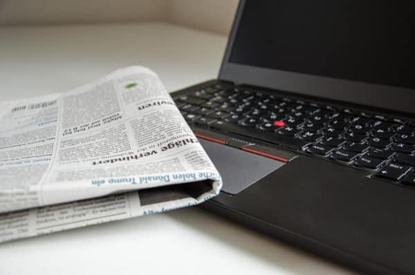 Dagstidningar online
