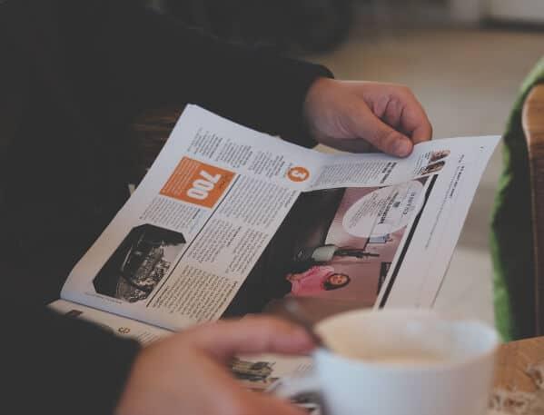 Prenumeration på dagstidningar