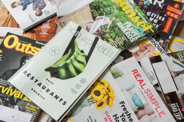 Prenumeration på månadstidningar