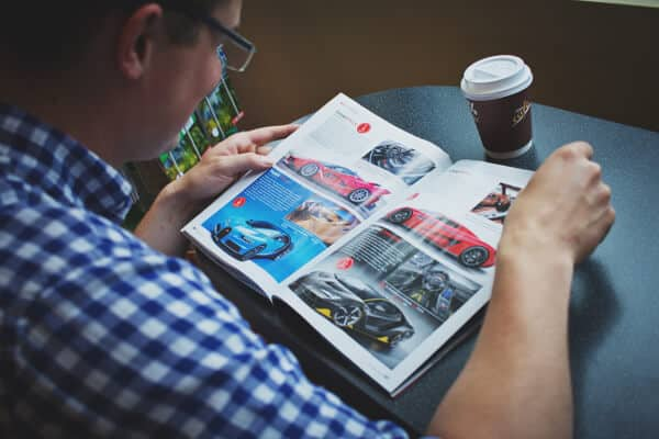 Prenumerera på en biltidning